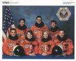 NASA (Space crew for Shuttle Mission STS-58) - Genuine Signed Autograph 7986